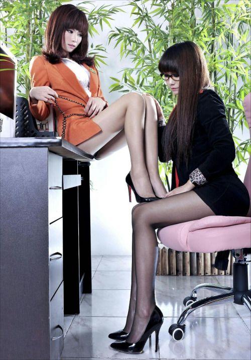 Penthouse asian lesbian girls