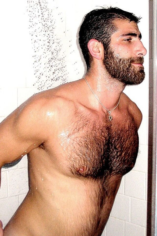 Brute hairy manly men