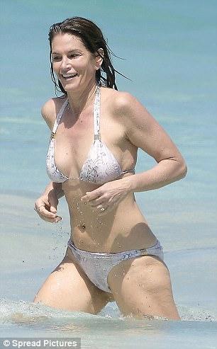 bikini Cindy crawford