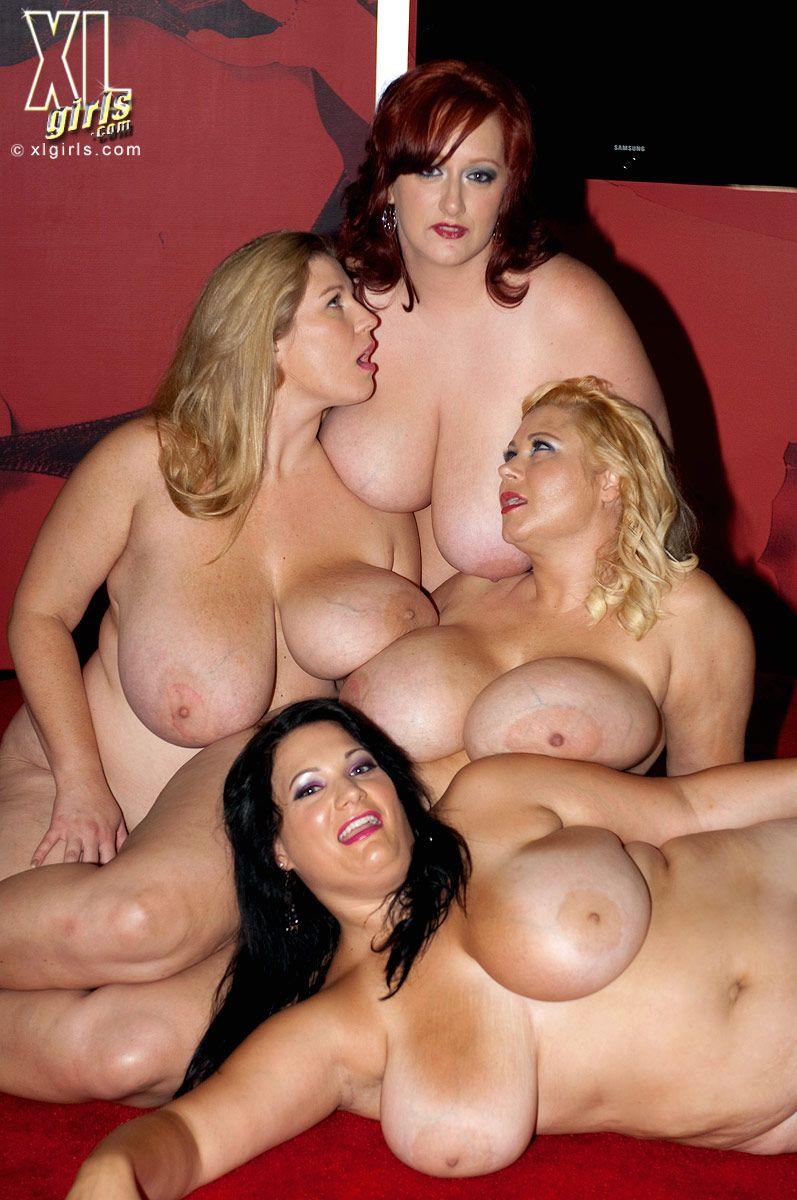 Group nude bbw women