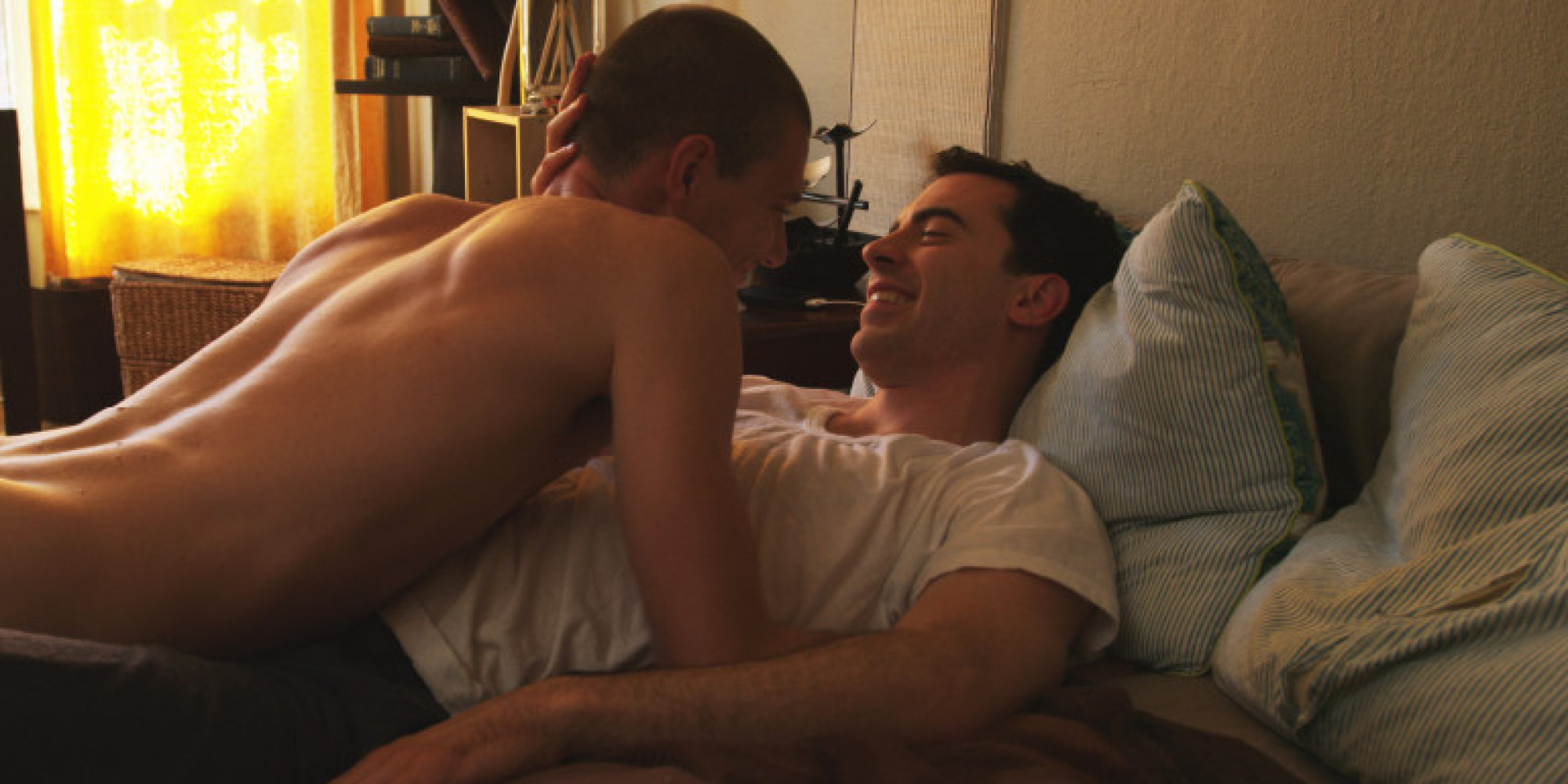 Gay man in love movie