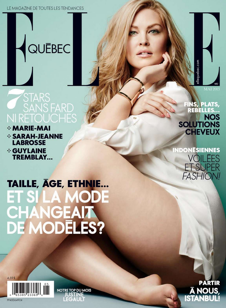 Elle quebec plus size model