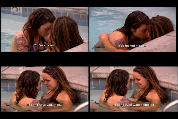 lesbian scenes Real l word sex