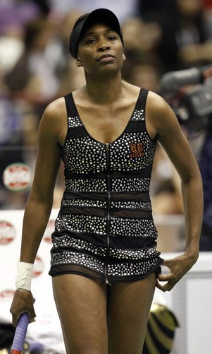 Venus williams tennis wardrobe malfunction