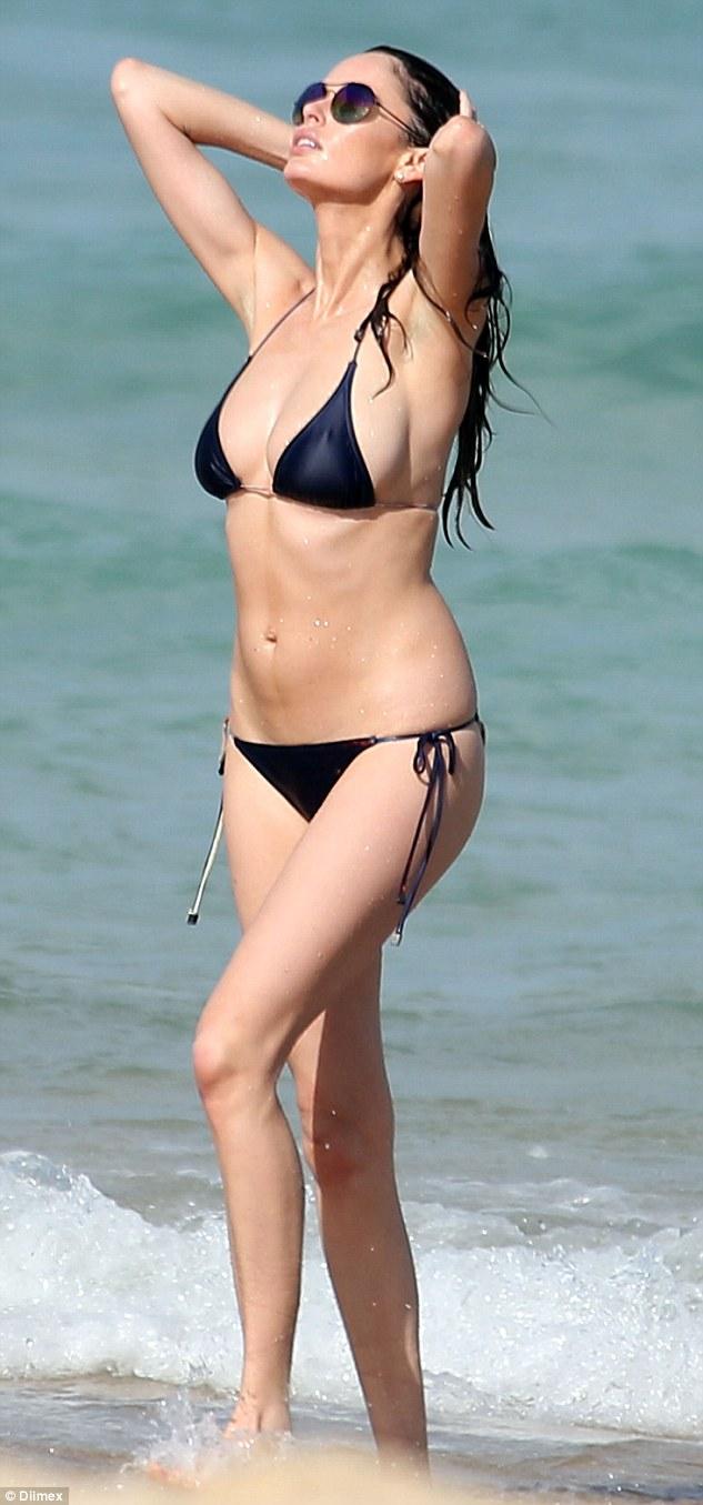 Victoria tiffany micro bikini