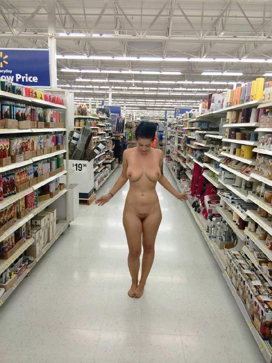 at Sexy naked walmart girls