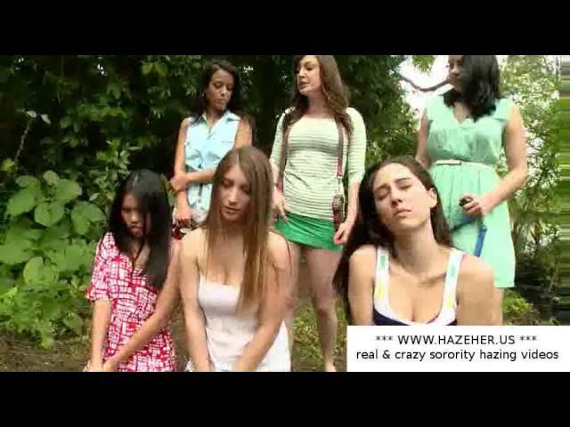 Sorority girls hazing