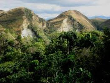 landforms Dominican republic