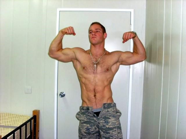 Naked military men big cock