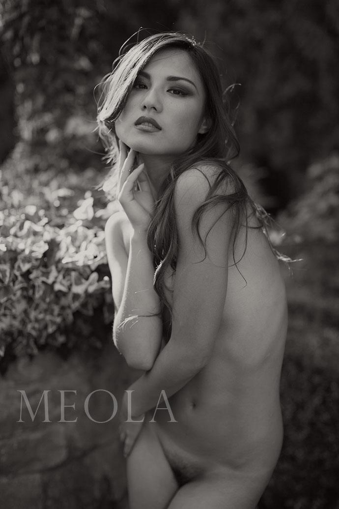 Naked woman nude art model