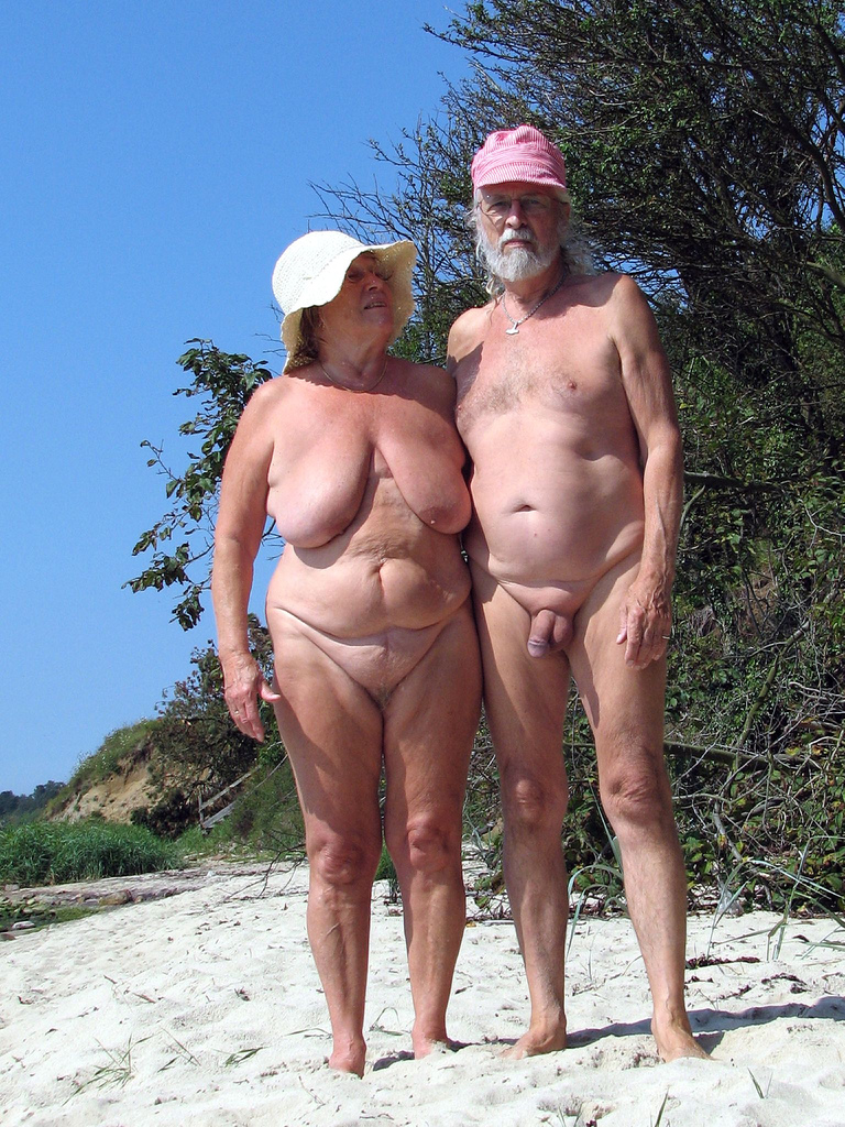 Senior couples nude beach