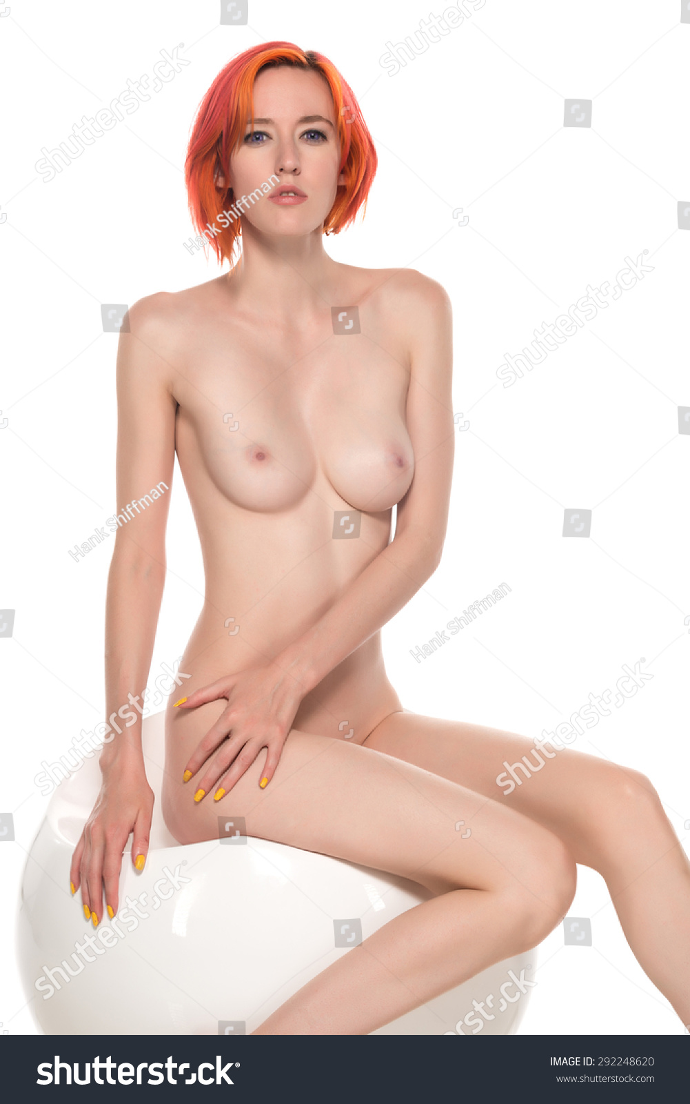 Red hair nude