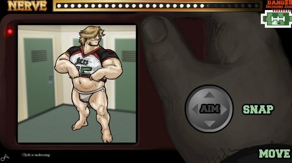 Gay porn flash game