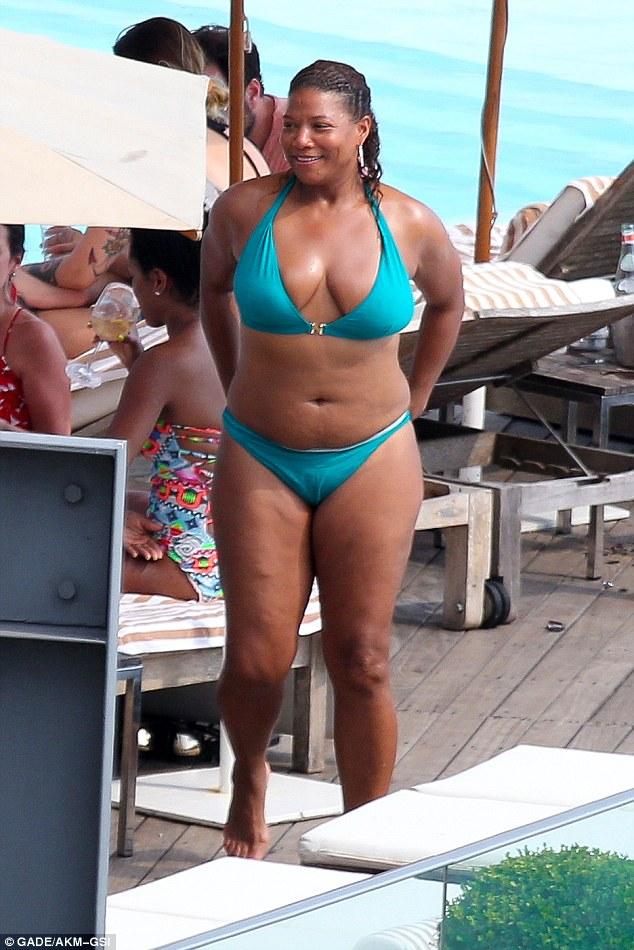 Queen latifah bikini