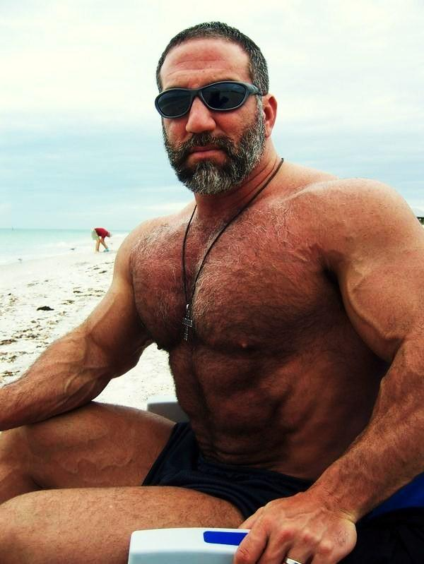 Hairy muscle men gay porn