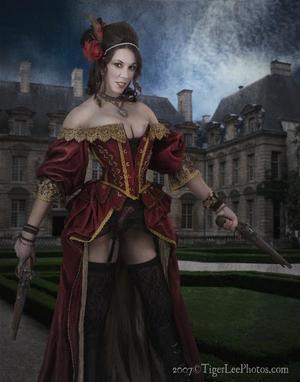 pirate Nude fantasy art