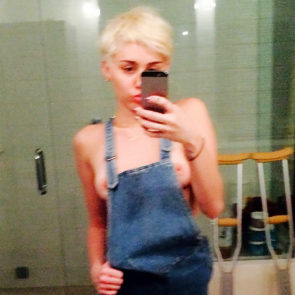 Naked miley cyrus leaked nudes
