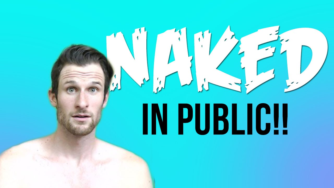Guy embarrassed to get naked