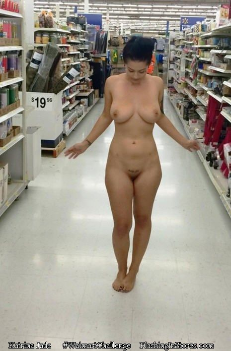 Sexy naked girls at walmart