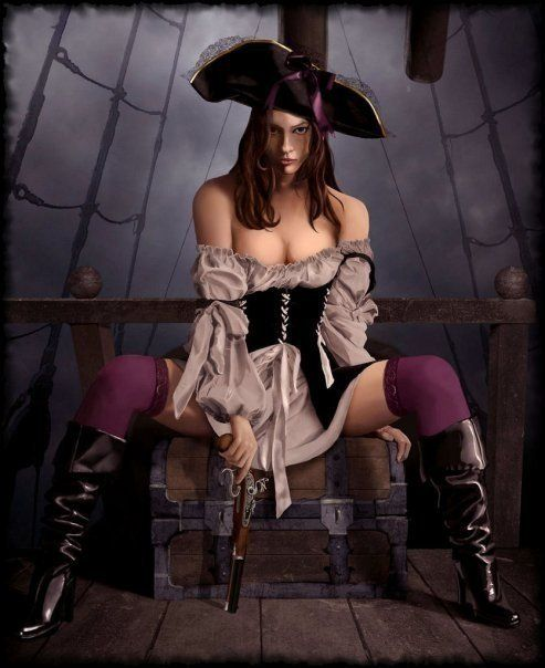 wench nude Pirate