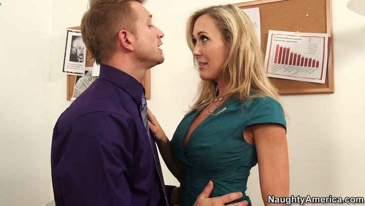 Brandi love office sex