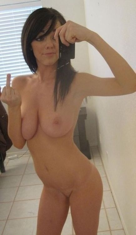 Naked girl mirror selfies nude