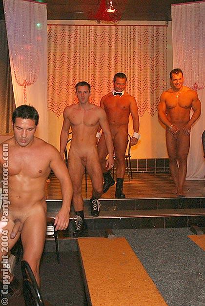 Male strippers fucking drunk milfs