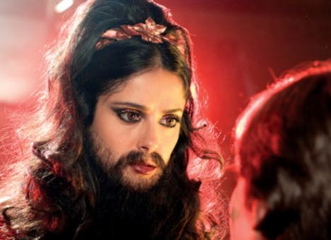 Salma hayek bearded