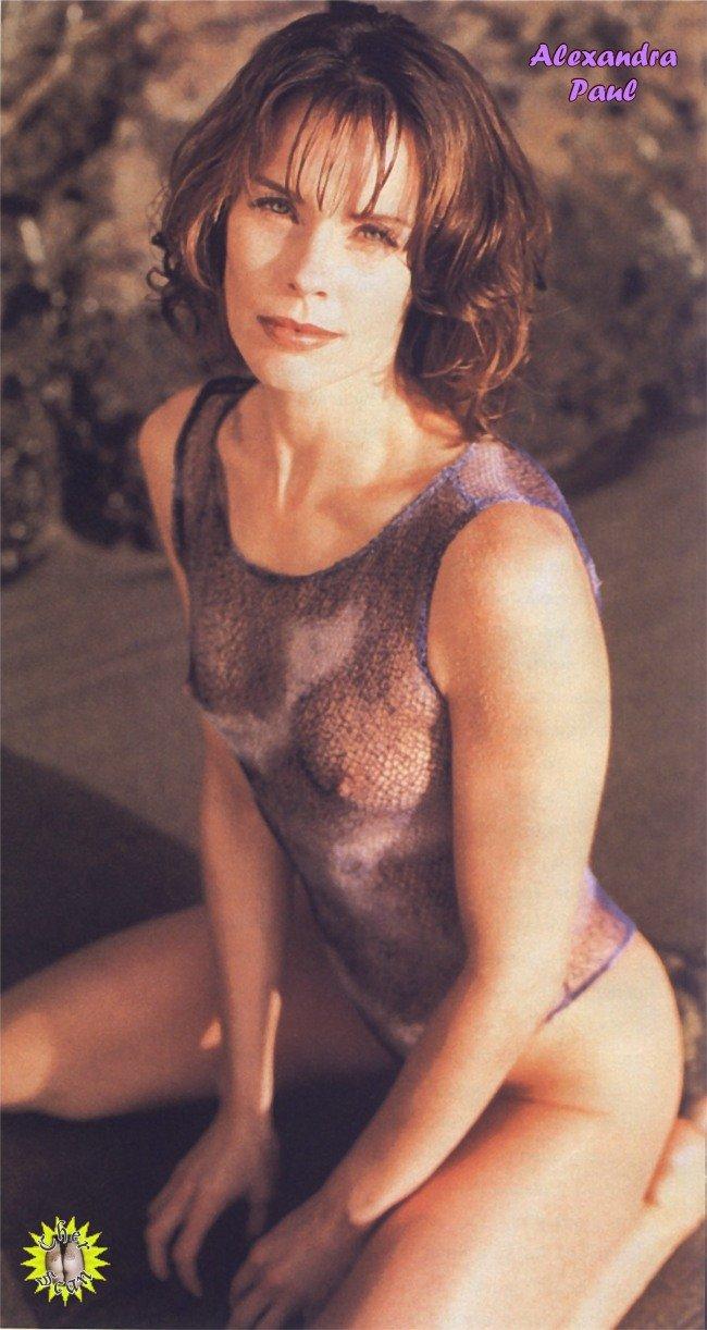 Alexandra paul nude