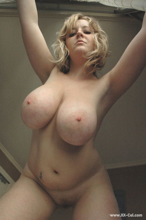 Chubby blonde big tits