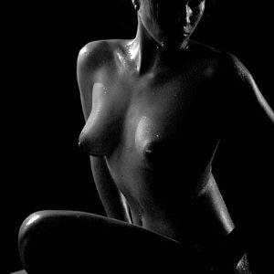Erotic nude model photography