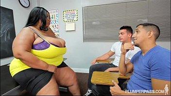 Busty black teacher porn