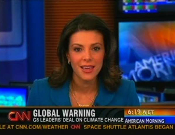 News anchor kiran chetry