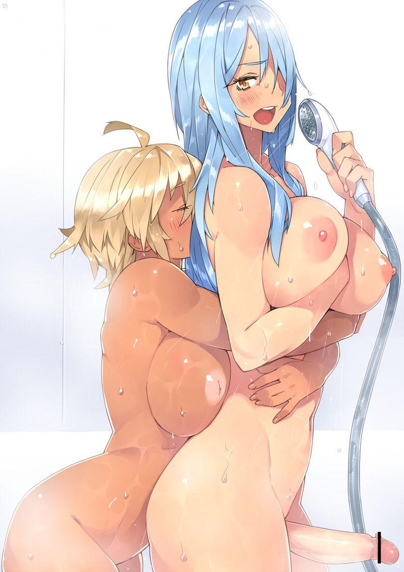Futanari anime girls porn