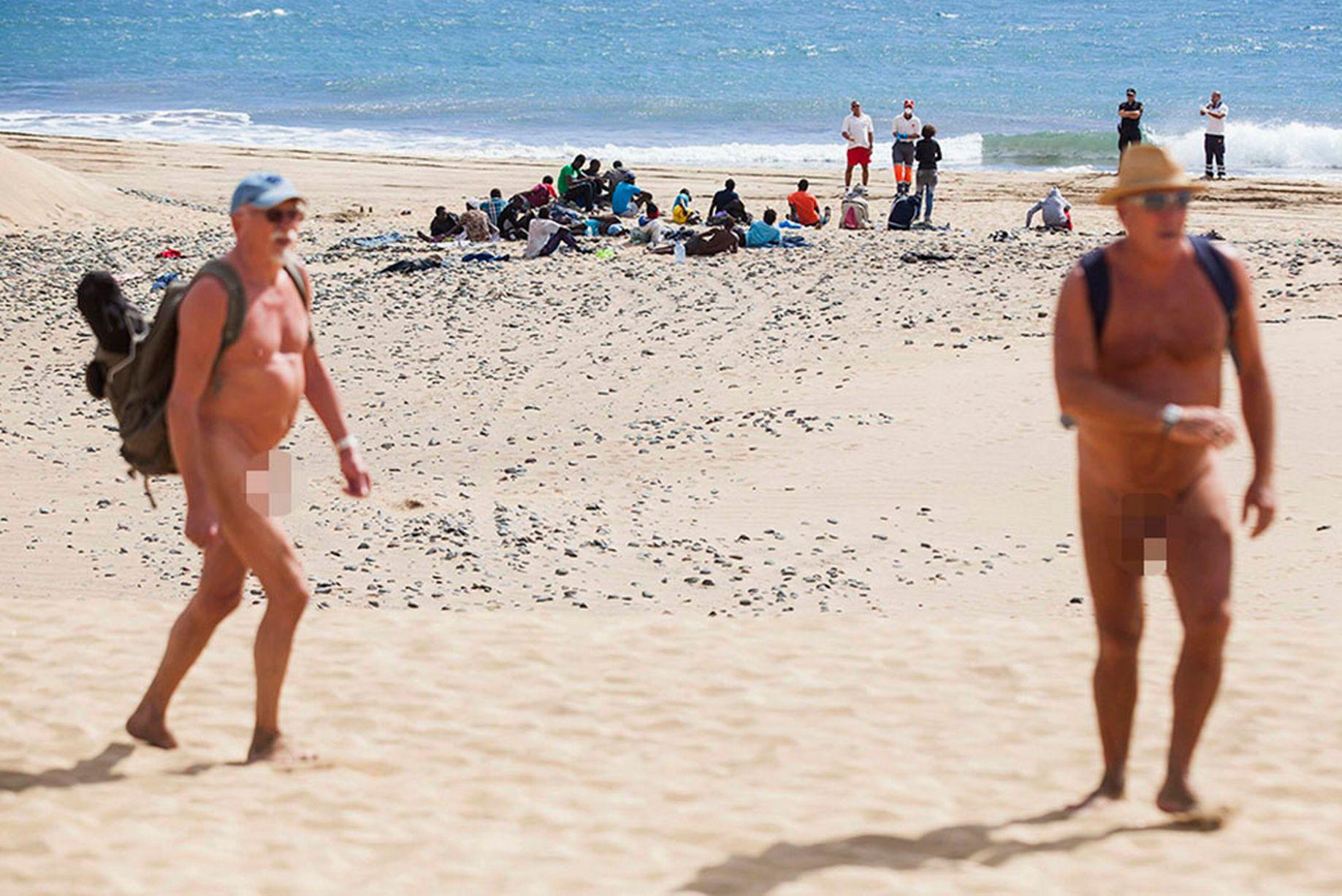 Sicilia beach nude