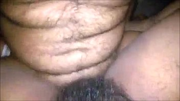 Hairy indian aunty ass hole