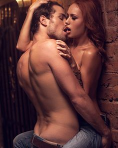couple and Nude kissing hugging