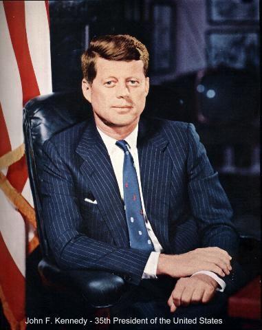 f President kennedy john