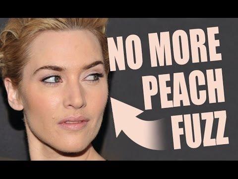 peach girl Blonde fuzz