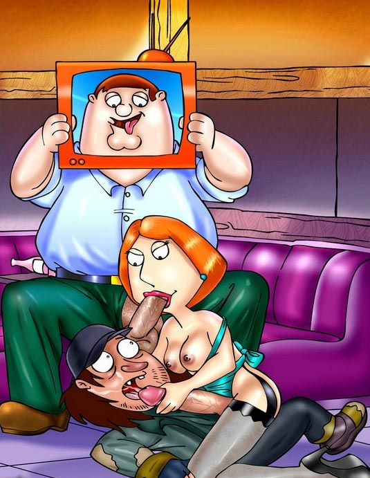 Shemale cartoon porn family guy