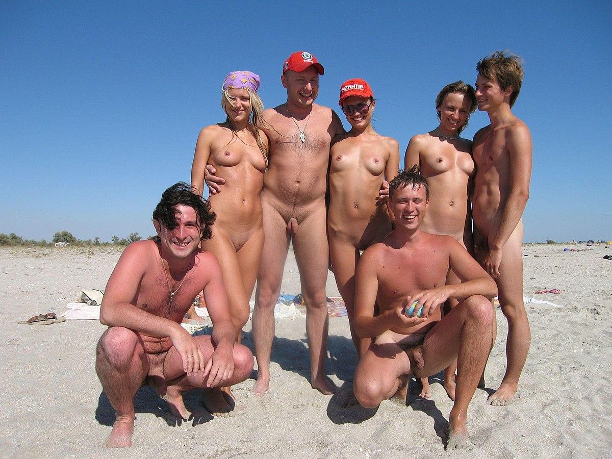 Naturist nudist nude beach
