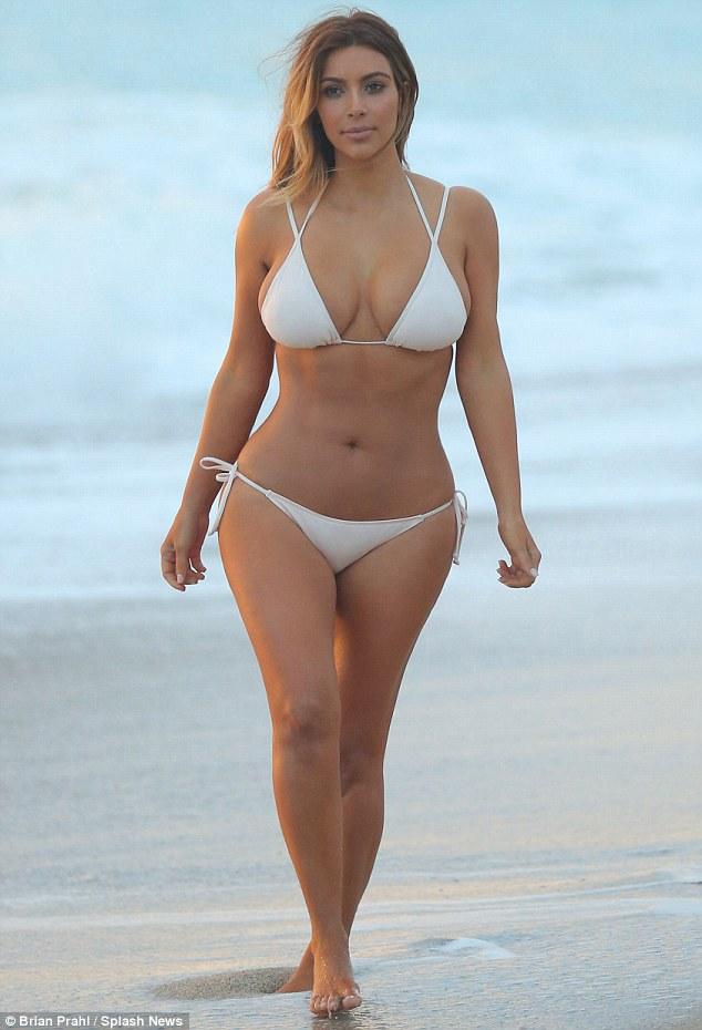 bikini hot Kim kardashian