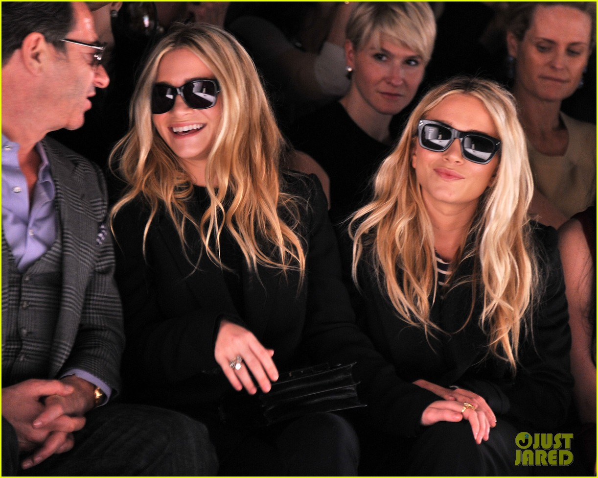 and olsen kate kissing ashley Mary