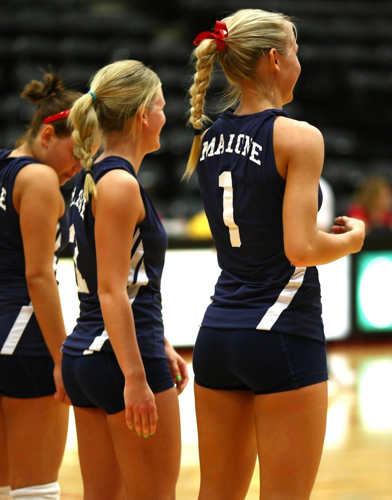 Hot volleyball girls ass