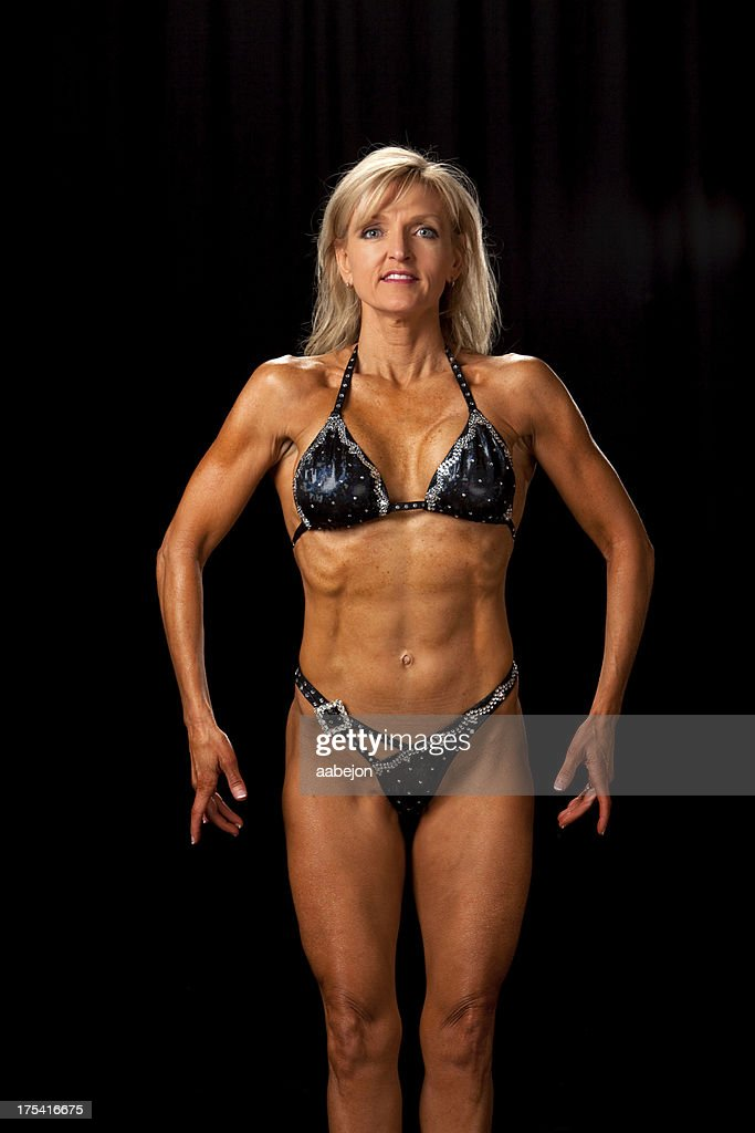Female mature muscle women