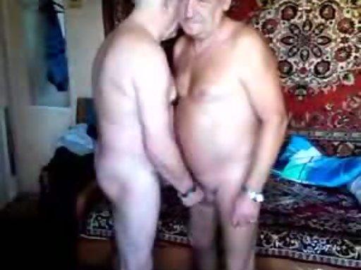 Naked old man gay sex