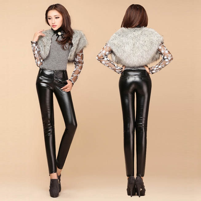 Teen leather pants