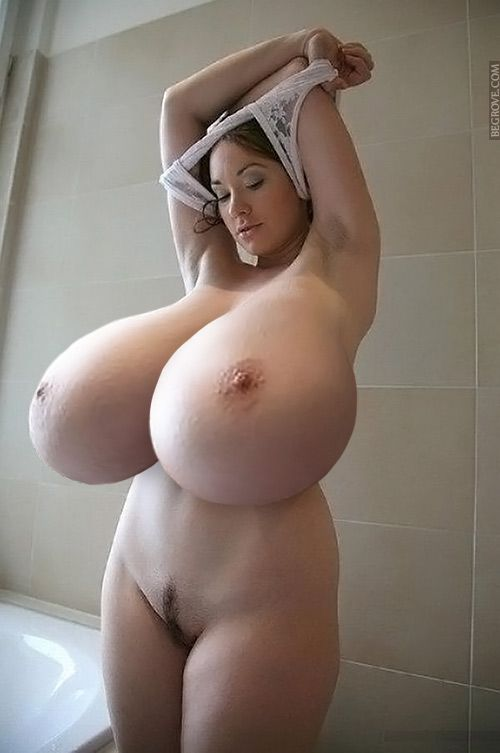 huge tits boobs monster Big