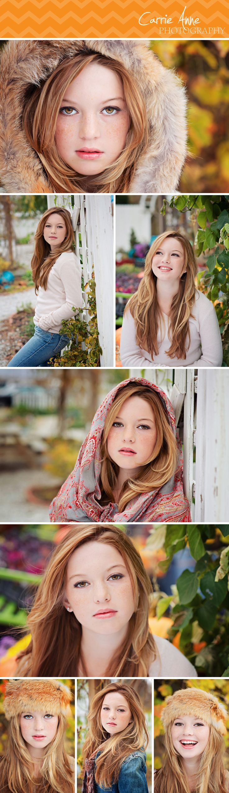 Teen glamour girls photography