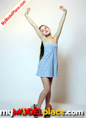Nn girl model casting
